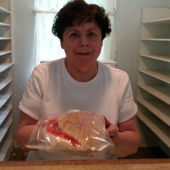 Doris Hahn from Hahn Oven Bakery in Amana, IA