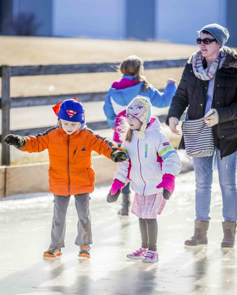 Amana Colonies Winterfest Ice Skating