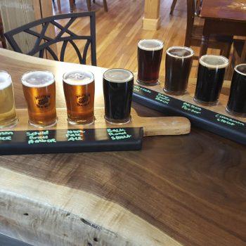 Beer Flights at Millstream Brewery